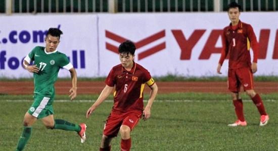 5 điểm nhấn U22 Việt Nam 8-1 U22 Macau: Quân HAGL rực sáng