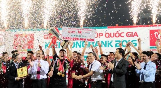 Đánh bại Hà Nội T&T 2-1, Than Quảng Ninh vô địch Cup QG 2016