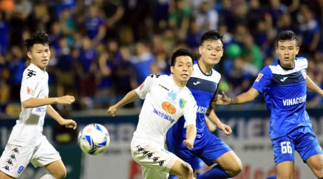 Than Quảng Ninh 4-4 Hà Nội T&T (Chung kết lượt đi Cup Quốc gia 2016)