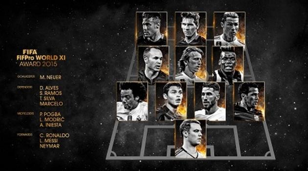 Đề cử ĐHTB của FIFPro: Chỉ một cầu thủ người Anh có tên