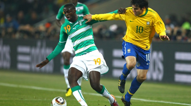 Yaya Toure muốn khoác áo Brazil