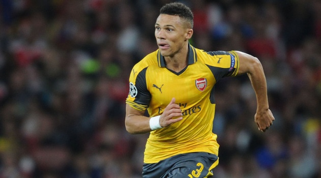 Arsenal khốn khổ vì Kieran Gibbs