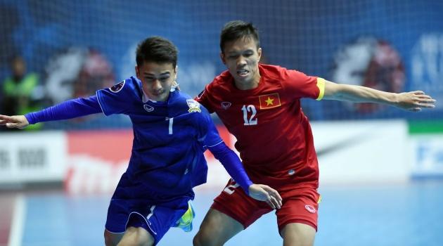 Giải vô địch futsal Đông Nam Á 2017: Việt Nam hẹn ông kẹ Thái Lan ở chung kết