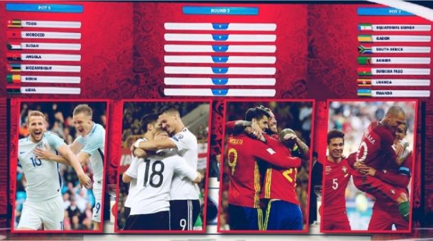 Bốc thăm VCK World Cup 2018: Những điều cần biết