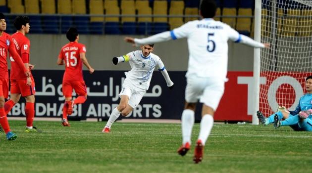 U23 Uzbekistan 4-1 U23 Hàn Quốc (Bán kết U23 châu Á 2018)