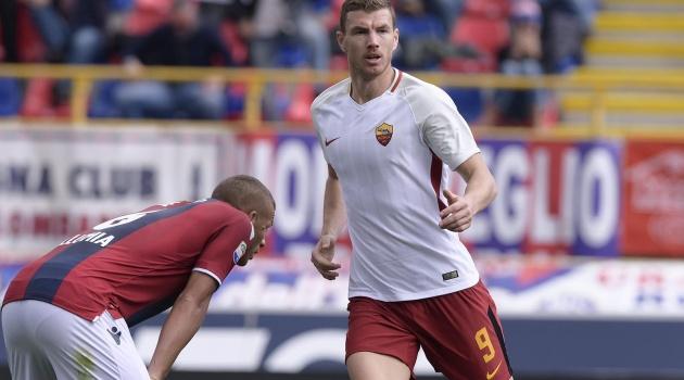 Dzeko ra sân trợ giúp, Roma vẫn đứt mạch thắng