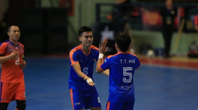 Cúp vô địch Futsal Việt Nam 2018 ngày thứ 2: Trâu Thủ Đô hưởng trọn niềm vui