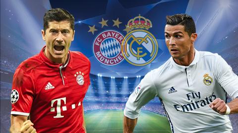 01h45 ngày 25/04, Bayern Munich vs Real Madrid: Quyết tâm phục thù