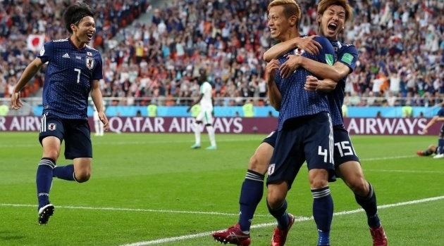 Honda làm nên lịch sử với bàn thắng thứ 4 cho Nhật Bản tại World Cup 2018
