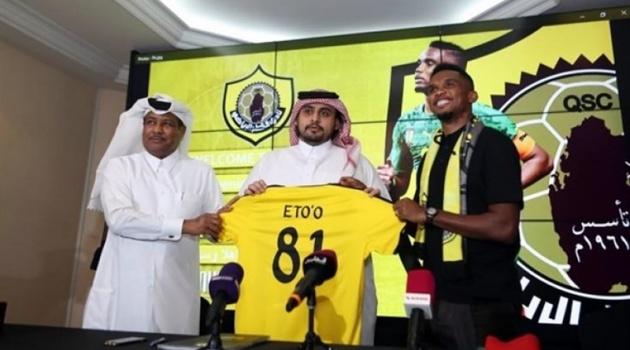 CHÍNH THỨC: Báo đen Eto'o ra mắt câu lạc bộ thứ 13 trong sự nghiệp