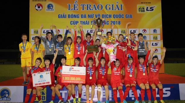 Chung kết giải VĐQG nữ 2018: Phong Phú Hà Nam lên ngôi vô địch
