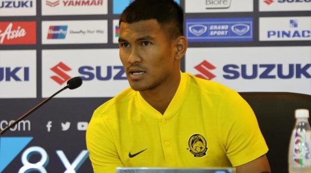 Cầu thủ Malaysia tuyên bố không bị yếu tim trước sức nóng của chảo lửa Mỹ Đình