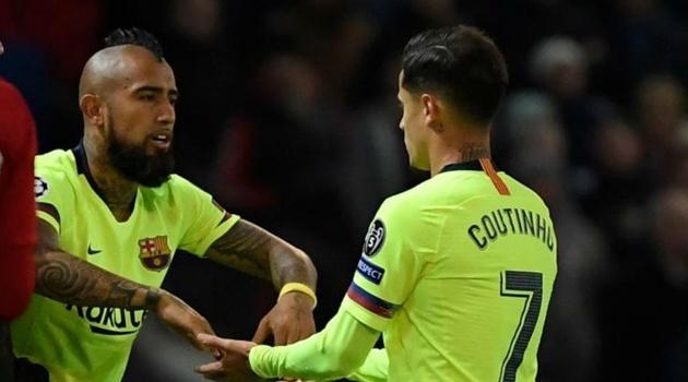 Vidal và Coutinho: Hai mặt của đồng tiền