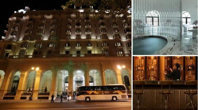 Chơi lớn! Chelsea trú chân ở khách sạn xa xỉ nhất thành phố Baku