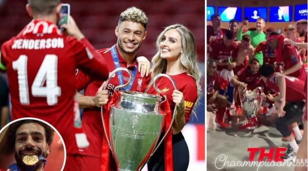 Dàn sao Liverpool quậy tưng bừng sau chức vô địch Champions League