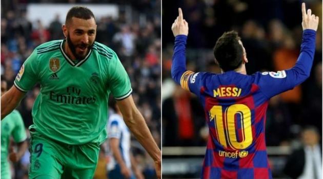 La Liga và đội hình bá đạo nhất lượt đi: Hai họng pháo Benzema - Suarez