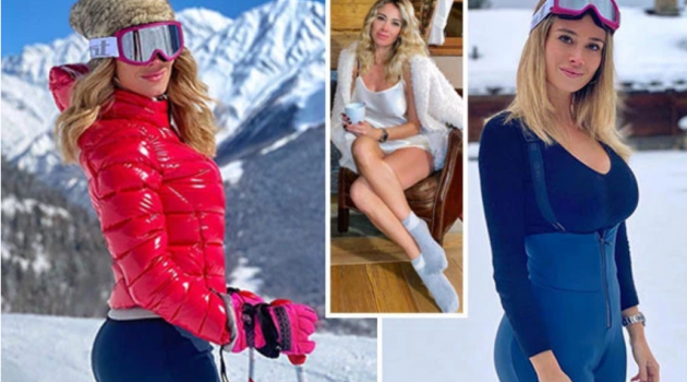 Mạo hiểm, nữ MC vạn người mê đi trượt tuyết giữa tâm dịch COVID-19