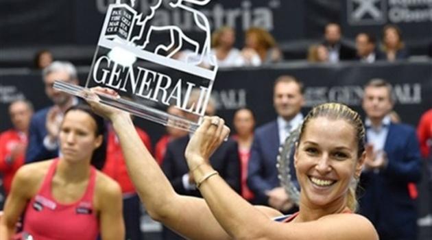 Điểm tin thể thao chiều 17/10: Cibulkova đoạt vé dự WTA Finals, Hoàng Thiên đánh bại đối thủ hơn gần 700 bậc