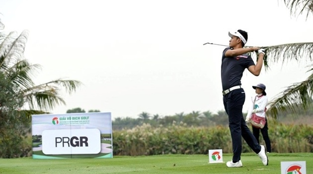 Thảo My, Chí Quân vô địch giải golf đối kháng quốc gia