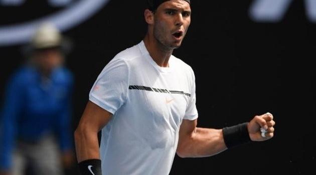 Rafael Nadal thị uy sức mạnh, đối đầu số 1 của nước Đức