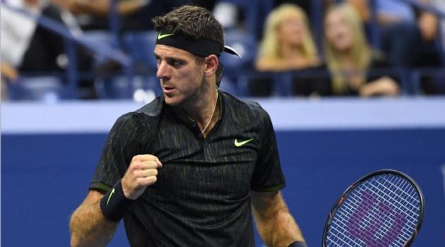 Del Potro lần đầu tiên sau ba năm lọt vào tứ kết Grand Slam