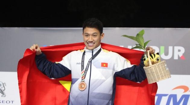 Lê Nguyễn Paul háo hức dù thua nhà ĐKVĐ Olympic ở SEA Games