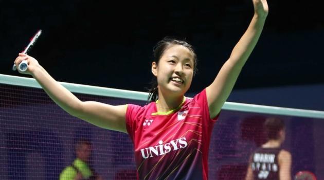 Nozomi Okuhara rút khỏi Đan Mạch Super Series