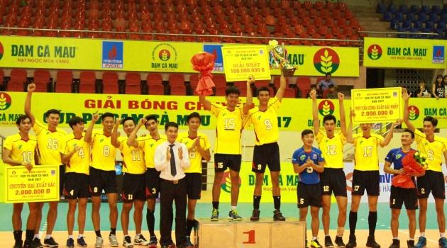 Nam TP HCM vô địch Siêu cúp bóng chuyền 2017