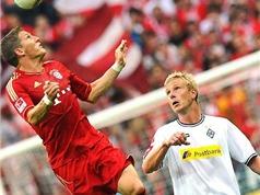 Video: Moenchengladbach đánh bại Bayern Munich ngay tại sân nhà