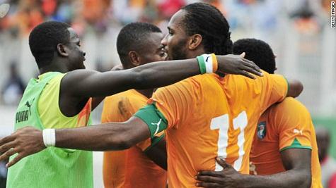 Vòng bảng thứ nhất CAN 2012: Dấu ấn Drogba