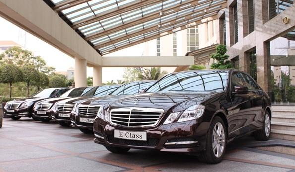 Mercedes-Benz tặng 3% lệ phí trước bạ