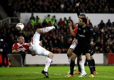Video Europa League: Stoke City 0 - 1 Valencia