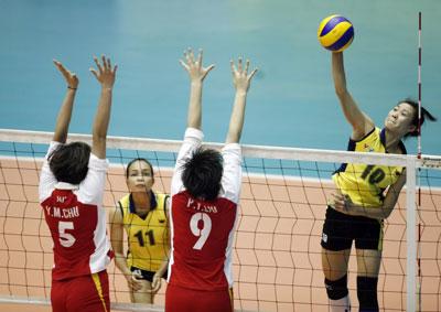 Giải bóng chuyền nữ quốc tế - VTV Bình Điền Cup lần 6 năm 2012: Khách mời rắn mặt!