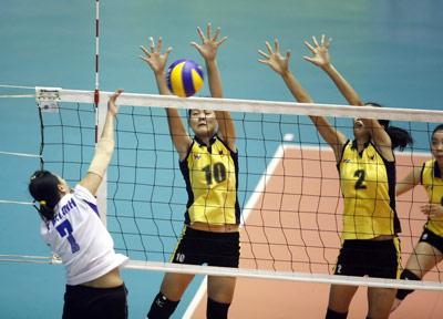 Bán kết giải bóng chuyền nữ quốc tế - VTV Bình Điền Cup 2012: Đi tìm ứng cử viên vô địch