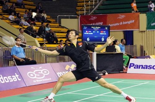 Giải cầu lông toàn Anh mở rộng: Tiến Minh thắng dễ Yun Hu
