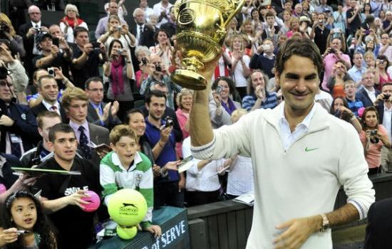 Kết thúc Wimbledon 2012: Thầy và trò huyền thoại