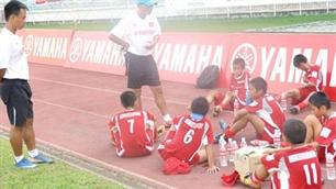 U13 Việt Nam thua U13 Malaysia 8 bàn không gở
