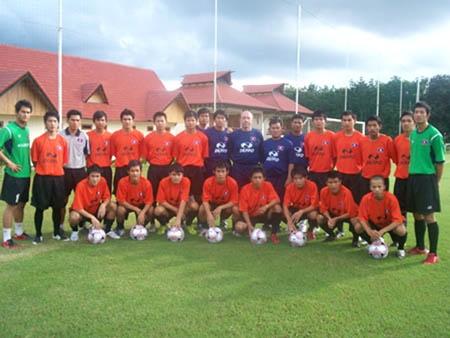 Thành lập đội bóng đá Hoàng Anh - Attapeu (Lào)