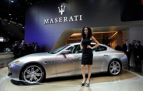 Maserati Quattroporte có thêm động cơ mới