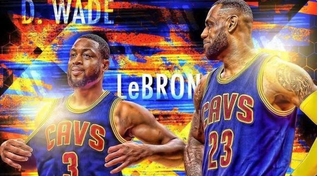 Dwyane Wade tái hợp với LeBron James tại CAVs?