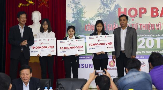 Giải Golf vì trẻ em thường niên lần thứ 12 - Chắp cánh ước mơ Việt Nam