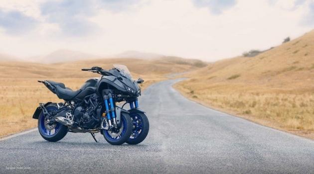 Những chiếc mô tô khủng, 3 bánh Yamaha Niken đã chính thức lên kệ