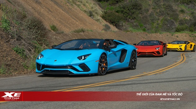 Lamborghini triệu hồi gần 2.000 siêu xe Aventador