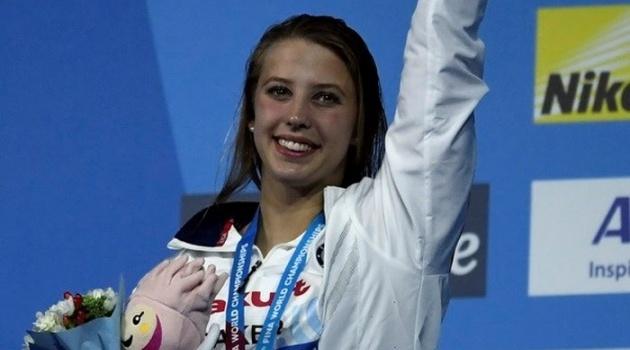 Kỷ lục thế giới mới cho nội dung bơi ngửa 100m của nữ