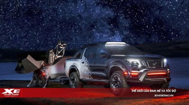 Trải nghiệm bầu trời đêm cùng Nisssan Navara Dark Sky Concept