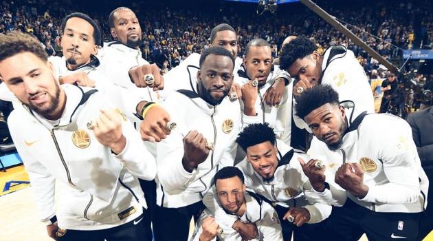 Giải mã những bí ẩn quanh chiếc nhẫn vô địch mùa giải NBA 2017 - 2018 của Golden State Warriors