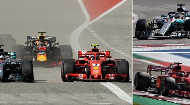 Raikkonen thắng chặng đua nước Mỹ, Hamilton vẫn phải chờ đến Mexico để vô địch