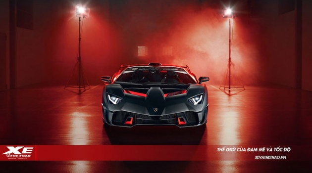 Siêu phẩm 'độc nhất vô nhị' Lamborghini SC18 trình làng