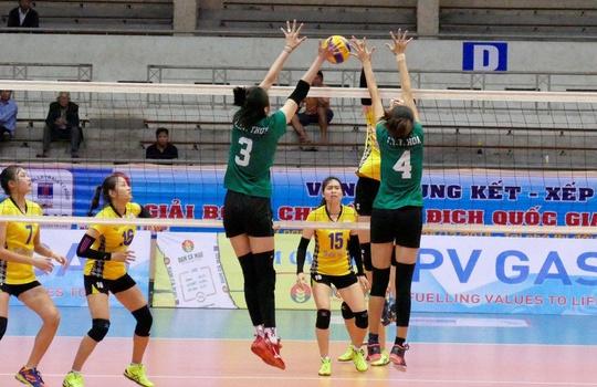 Bình Điền Long An tranh chung kết bóng chuyền nữ với Thông tin Liên Việt Post Bank