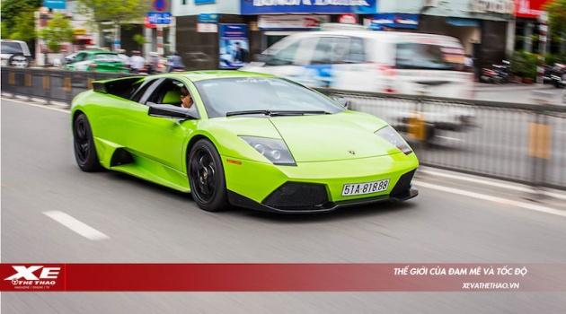 Siêu xe Lamborghini Murciélago màu độc đang tìm chủ mới tại Việt Nam với giá gần 10 tỷ